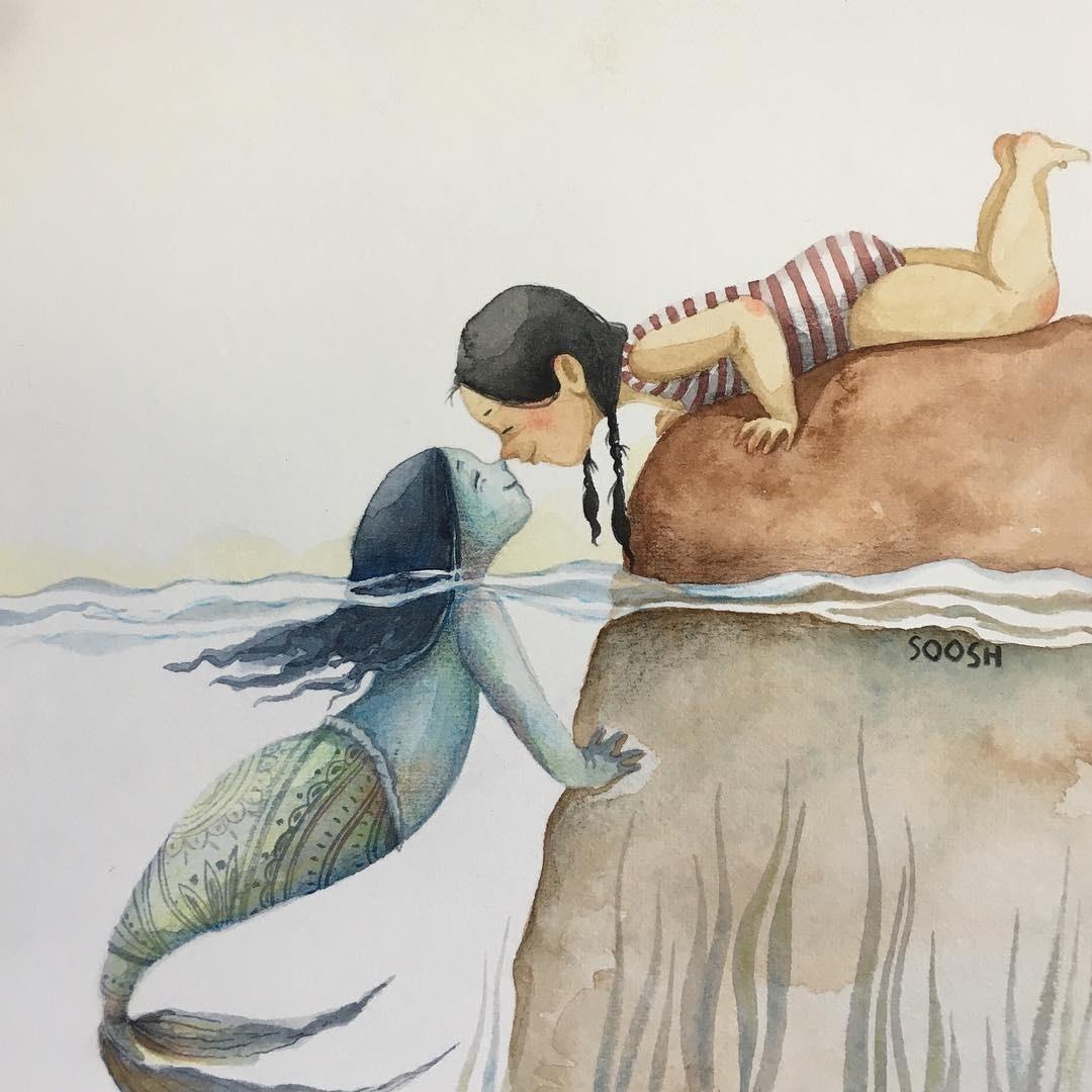 Когда твоя подружка — русалка