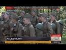 Военный лагерь времен блокады Ленинграда воссоздали на Невском пятачке