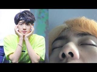 Los miembros de BTS celebran el cumpleaños de Jin ... de la mejor manera posible