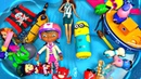 Learn Characters Toys in Box For Kids Miraculous Ladybug Peppa Pig PJ Masks Masha and the Bear