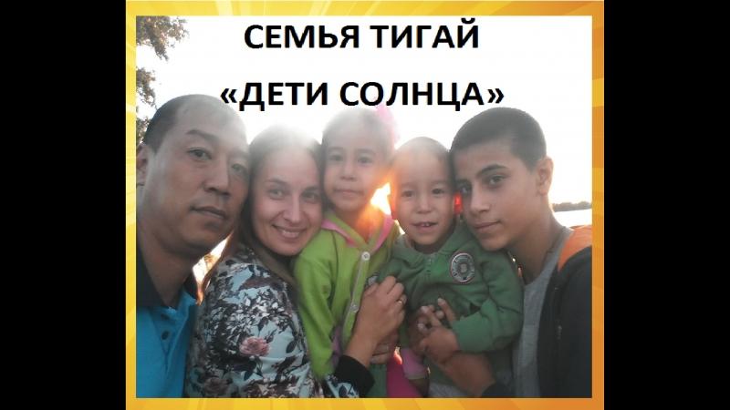 ВИЗИТНАЯ КАРТОЧКА семьи Тигай