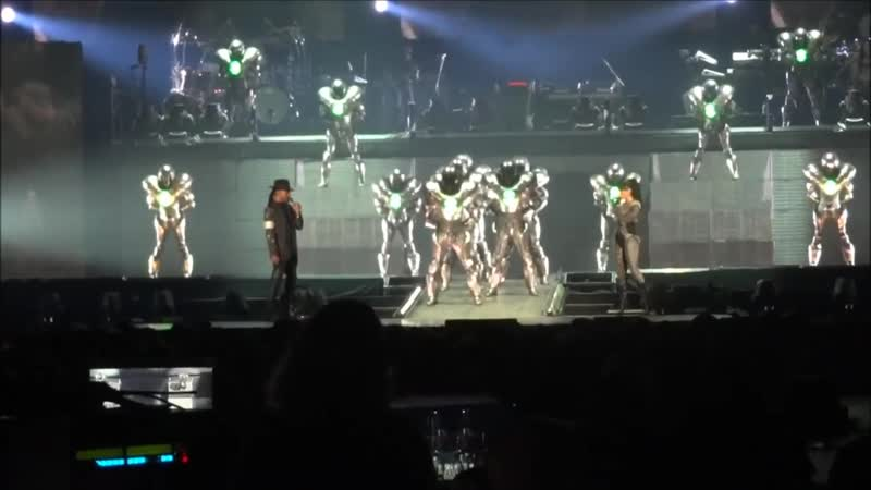 Michael Jackson Immortal - They Dont Care About Us Live in Helsinki 6.11.2012