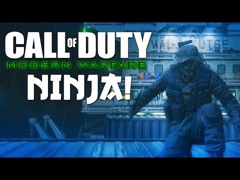 Modern Warfare - NINJA MONTAGE! 2 (Funny Moments, Ninja Defuses, Trolling)