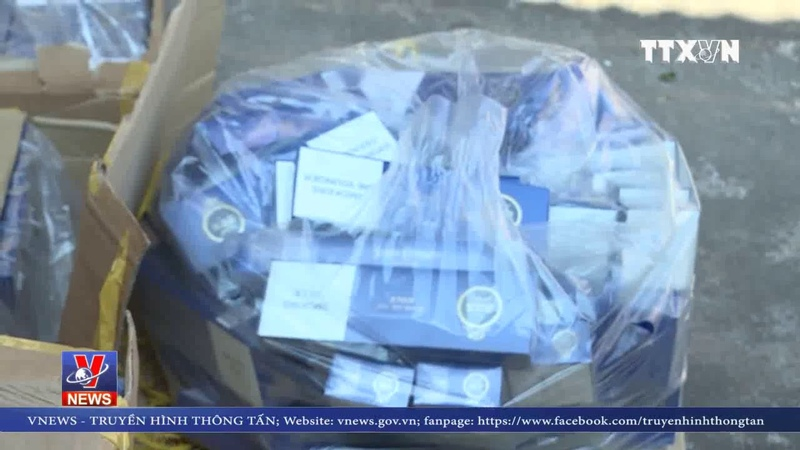 Quảng Ninh bắt giữ 11 nghìn gói thuốc lá điếu nhập lậu