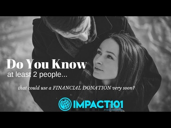 IMPACT 101 Crowdfunding Fast Review