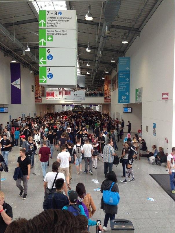 Полмиллиона человек посетили gamescom2014 в Кельне