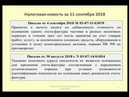 11092018 Налоговая новость о применении вычетов по НДС deduction of VAT