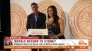 Meghan Markle and Prince Harry Return To Sydney from Tonga 2018