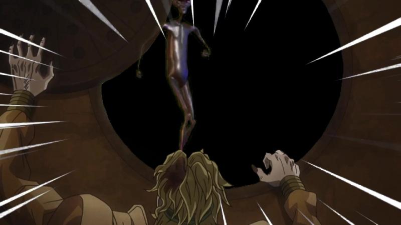 Дио искал укрытие, но его встретил инопланетянин Говард.