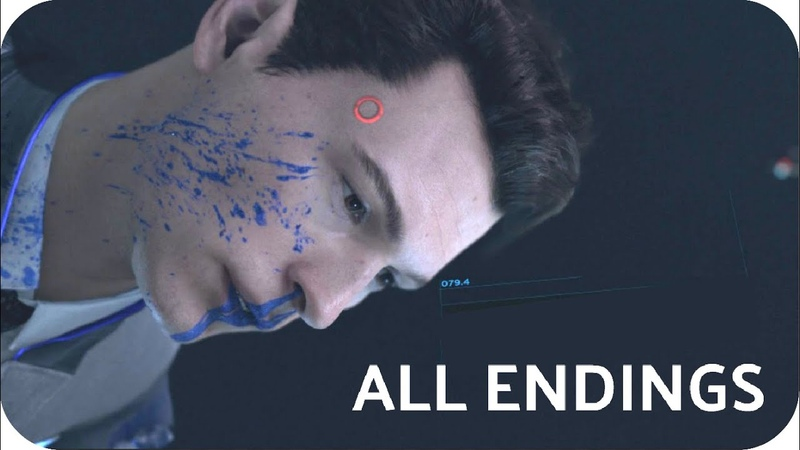 Detroit: Become Human   ALL ENDINGS how to get them   The Hostage