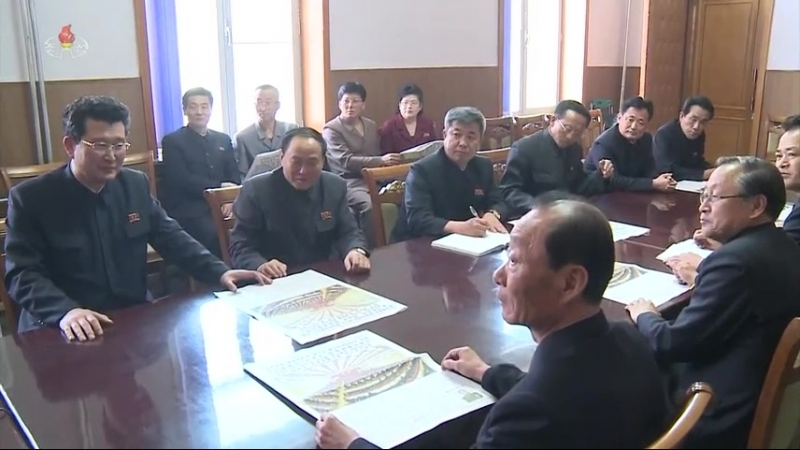 조선로동당 중앙위원회 제7기 제3차전원회의소식에 접한 각계반향 (7)