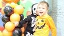 Хэллоуин всей семьей в игровой комнате Хлоп Топ Halloween party