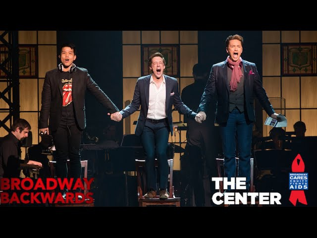 Telly Leung, Jason Michael Snow, Brian Charles Rooney sing I Want It All - Broadway Backwards 2015