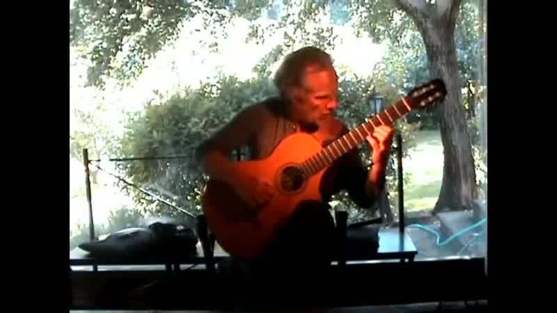 Peace Cadence and Cascade King Crimson Classical guitar version