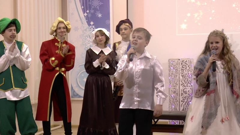 Александр Сливницын ,Сашенька Никулина ДШИ №1 Шумерля 2018 г