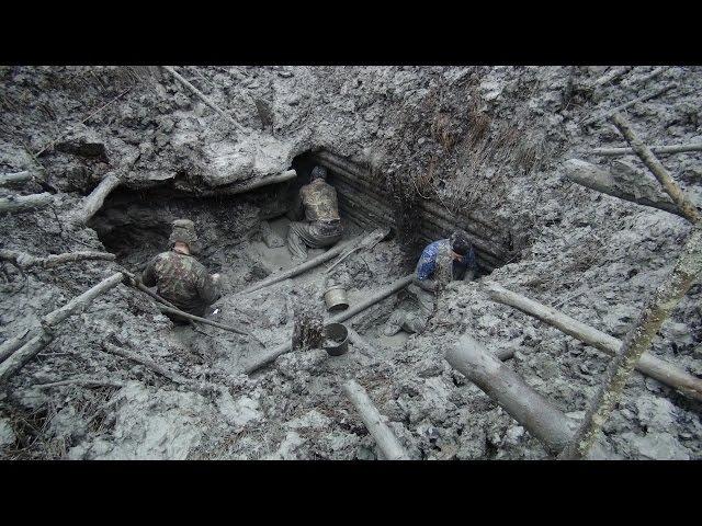 Эпичные Раскопки немецкого Блиндажа Вторая Мировая \ Excavations of German dugout