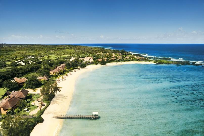 Shanti Maurice – райский уголок на острове Маврикий.