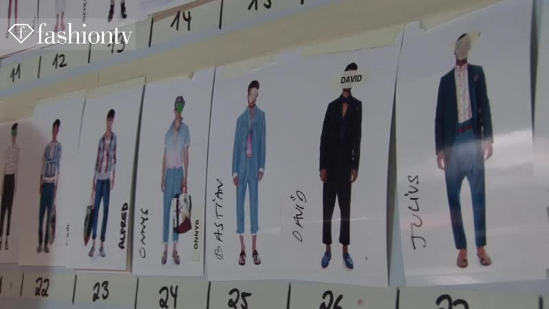 Vivienne Westwood Men Spring_Summer 2014 Designer at Work _ Milan Mens Fashion