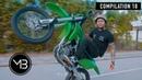 Bike Life Compilation 18 Ft. Hunned Grand Outta My Life | MrBizness