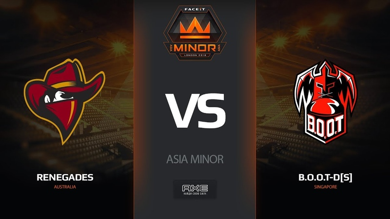 Renegades vs B.O.O.T-d[S], map 1 dust2, Asia Minor – FACEIT Major 2018