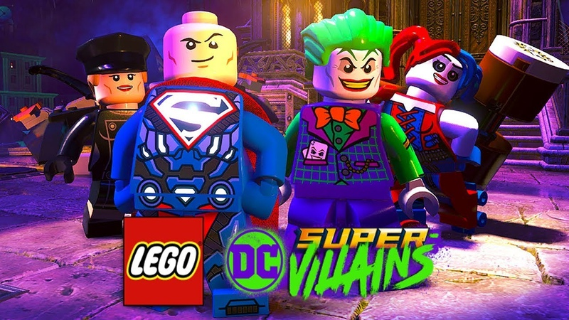LEGO DC Super-Villains (Супер-Злодеи) - НОВАЯ ЛИГА СПРАВЕДЛИВОСТИ