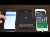 Voice Command Battle: BlackBerry Assistant vs Siri vs Google Now