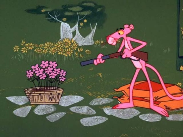 The Pink Panther Show Episode 27 Pink Posies