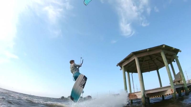 Sam Light Backcountry Kiteboarding at its best!