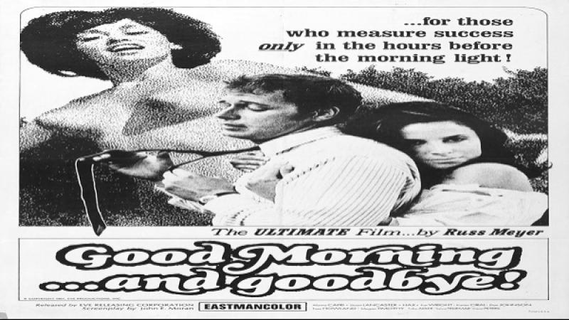 1967 Russ Meyer Good Morning and Goodbye Alaina Capri Stuart Lancaster Toby Adler Haji
