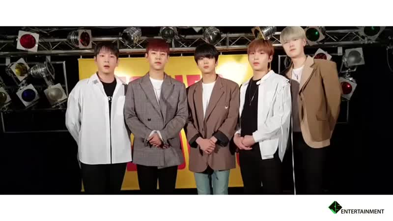181112 Message from B.A.P to encourage students who are going to take the SAT exam