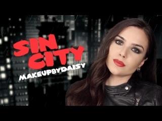 Город грехов   Макияж в стиле Евы Грин   Sin city makeup tutorial