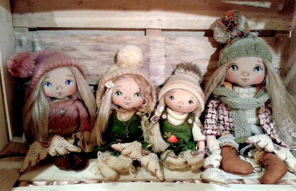 Выкройки кукол из ткани своими руками для