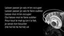Maître Gims - Laissez Passer (Paroles Audio)