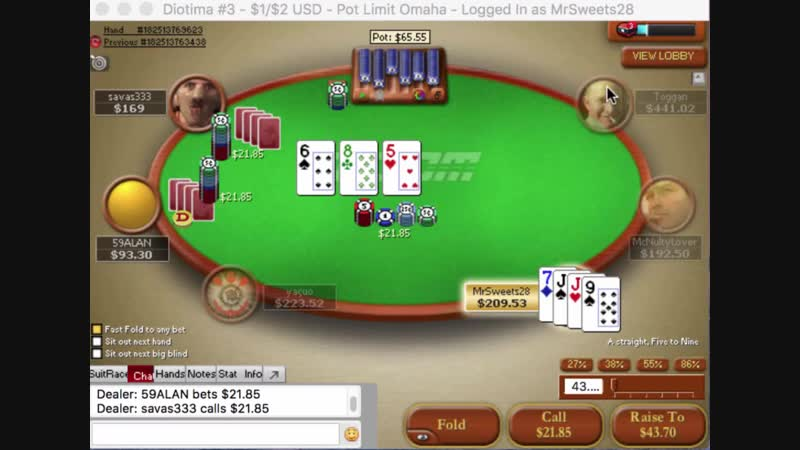 $1-$2 6-Max Zoom PLO Essential (42 min) by Phil Galfond PLO