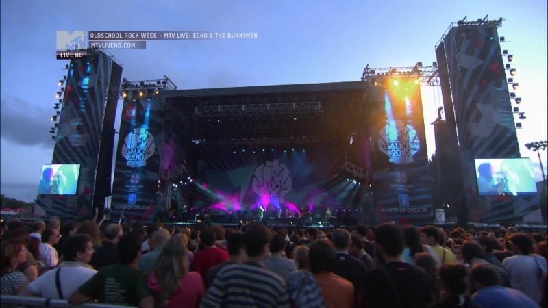 Echo and the Bunnymen - Live in Galicia Festival 2010