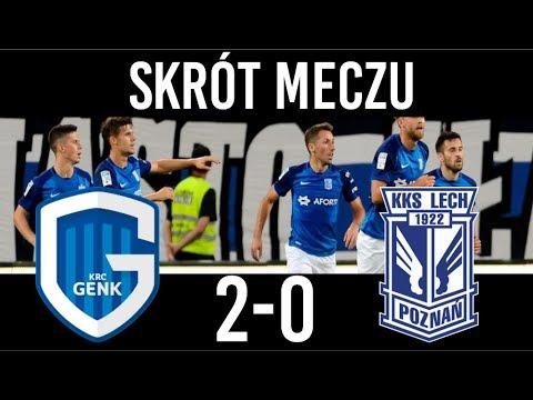 KRC Genk 2-0 Lech Poznań Skrót meczu 09/08/2018 PL