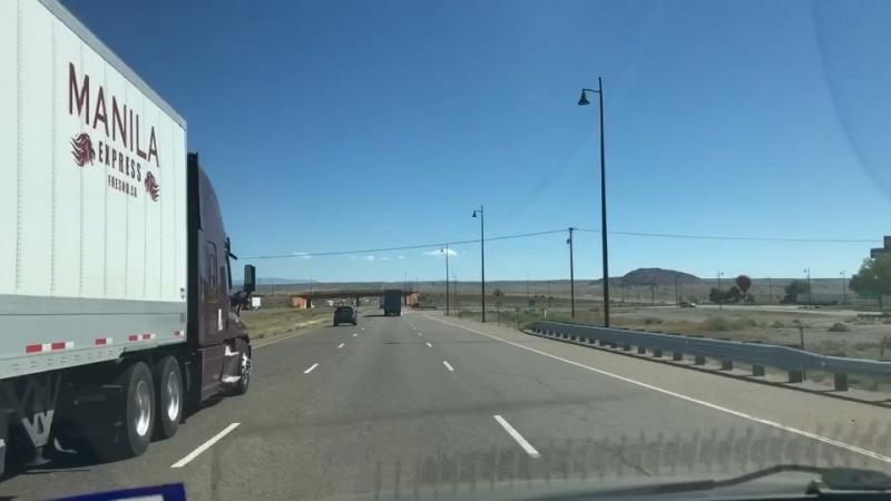 Дорога через Нью Мексико в Техас 🚙 On the road through New Mexico to Texas 🚗 EnElCamino NewMexico Texas