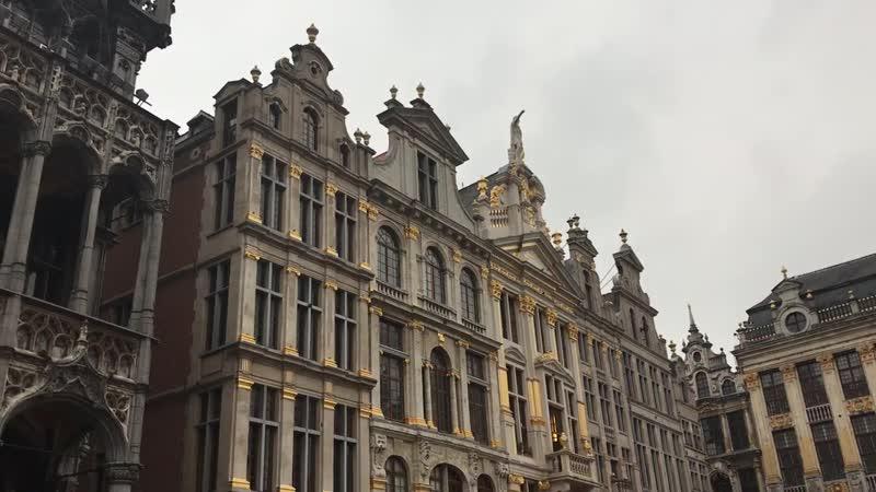 Самая красивая площадь которую я видела в Брюсселе