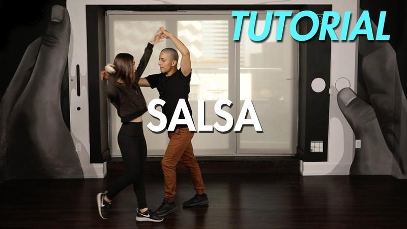How to Salsa: The Hair Comb (Ballroom Dance Moves Tutorial)   MihranTV