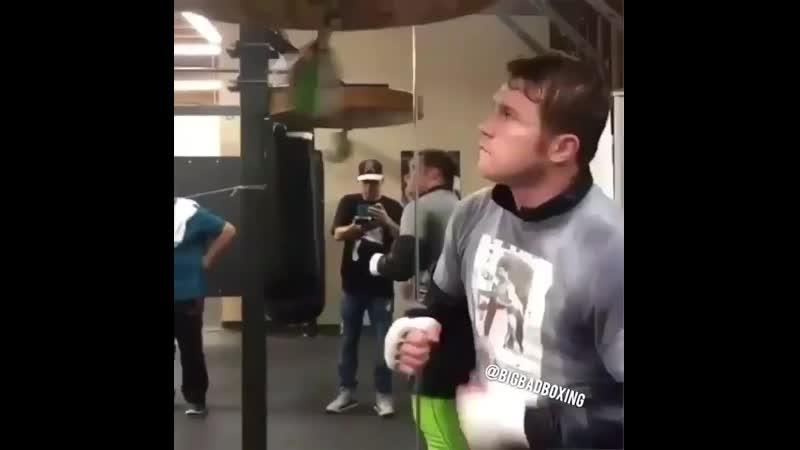 🎬Канело Альварес готовится к бою с Дэниэлем Джейкобсом🥊
