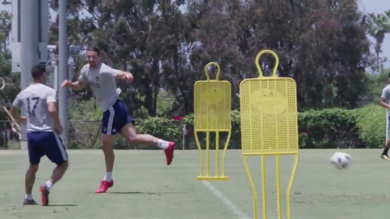 Just another day at training for @Ibra_official