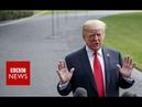 Trump: Brett Kavanaugh 'caught up in a hoax' - BBC News