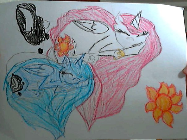 Рисунок пони карандашом - 8280