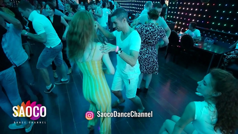 Denis Romanov and Alita Bru Salsa Dancing in Ludovic at Boogaloo Party Sunday 15 07 2018