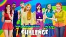 TS 4 I Rainbow Sim Challenge I Радужный симс