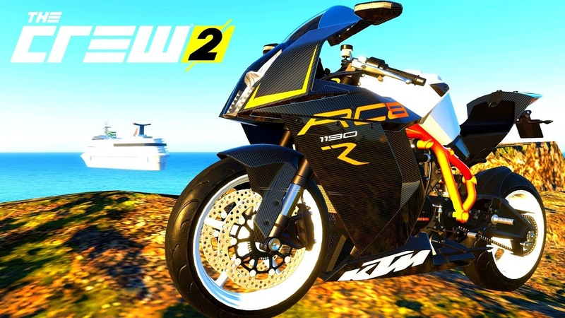 THE CREW 2 GOLD EDiTiON (TUNiNG) KTM 1190 RC8 R PART 476 ...