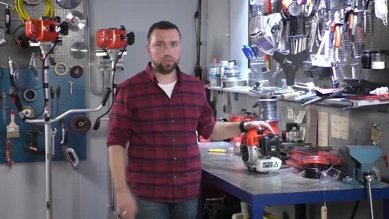 Как выбрать бензиновый триммер или мотокосу для дачи 12