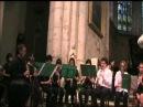 Mouvement perpétuel Paganini Choeur de clarinettes direction Guy Dangain Nantua 2012