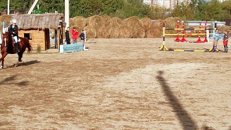 16.09.18 Маняша на Рубиновом конкур до 80 см