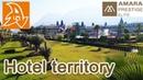 Amara Prestige 5* Обзор территории отеля. Overview of the hotel